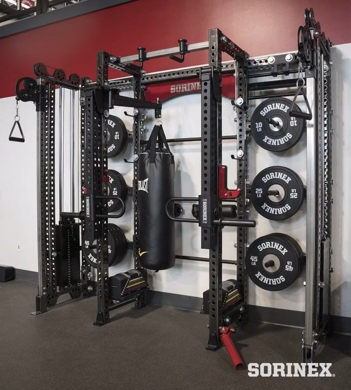 The unknown rack by sorinex home gyms home gym garage gym