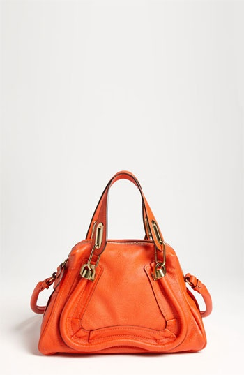 Could I get one in every color?Leather Satchel, Nordstrom, Chloé Paraty, Stylewish Lists, Simply Style, Clothing, Colors, Orange Purses, Da Bags