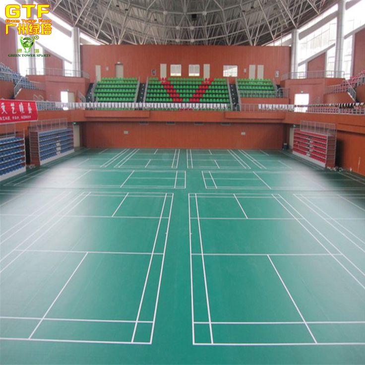 Indoor PVC Sports Flooring For Badminton Court