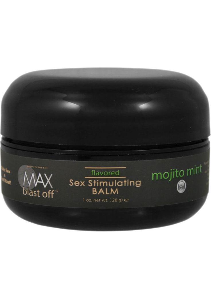 Buy Max 4 Men Max Blast Off Flavored Sex Stimulating Balm Mojito Mint 1 Ounce online cheap. SALE! $12.99