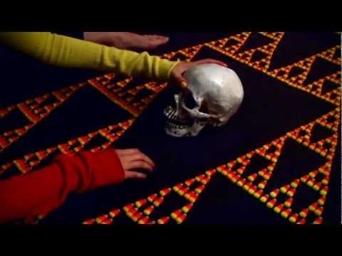"""Scary Sierpinski Skull Time"" Vihart is awesome!"
