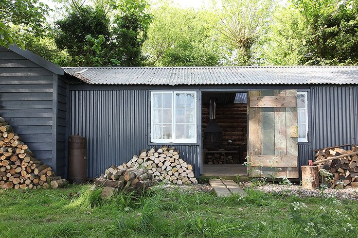 Two cabins set in 3 acres of the beautiful grounds of Foster House Both unique and offer ...