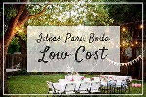 I➨ Entra y conoce nuestros trucos para organizar una boda low cost. Con estas ideas podrás planificar una celebración por todo lo alto sin perder ningún lujo de detalles. Una boda preciosa no tiene porqué ser cara. ¡Haz click y ahorra desde YA!
