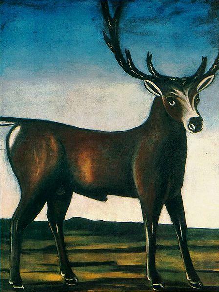 Niko Pirosmani. A Deer