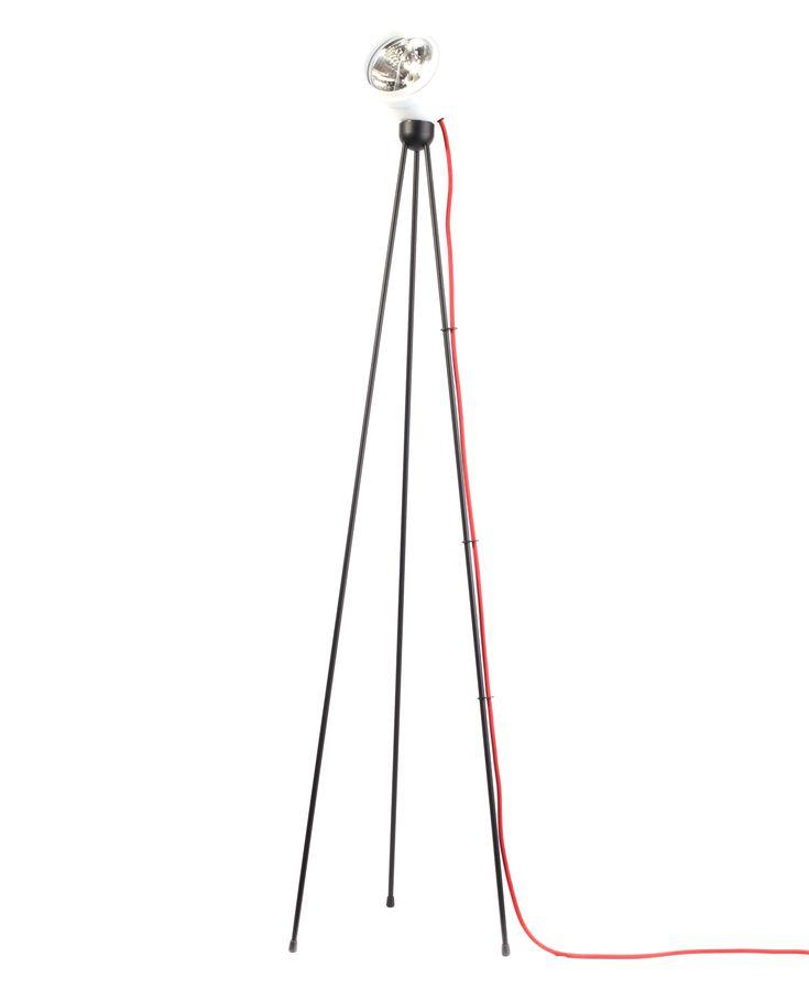 Lampadaire Tripod180° Touch / halogène