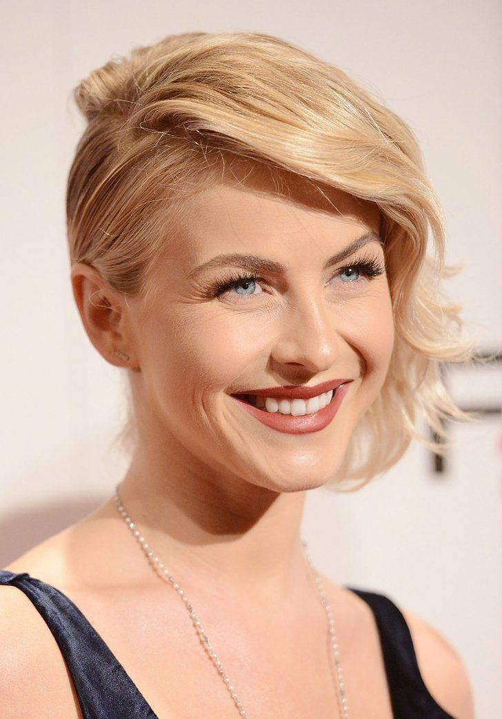 Even ladies with short hair can pull off the faux undercut look, just | To the Left: 25 Sideswept Styles to Try This Season | POPSUGAR Beauty Photo 3 ...