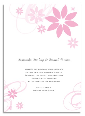 1000 Ideas About Wedding Invitations Canada On Pinterest