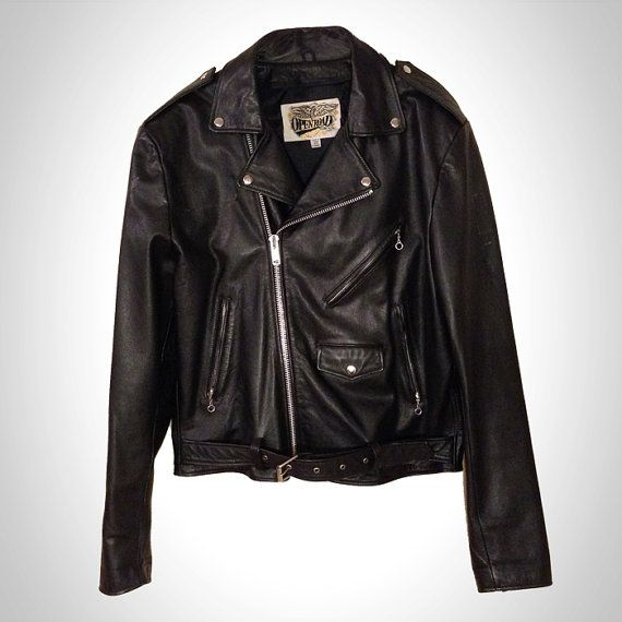 Open road leather jacket