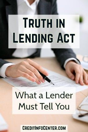How can you be expected to open a credit card or take out a loan if you aren't told all the terms of the agreement? You can't, which is why we have the Truth in Lending Act. Enacted in 1968, this law requires lenders to make certain disclosures before extending credit to you. It's a long list of requirements, but we've summarized the basics for you here, including what lenders must state in ads and applications, and what must be included in your billing statements.