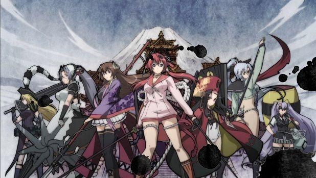 Anime Hyakka Ryouran: Samurai Girls - Google Search