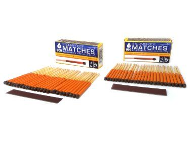 Amazon.com: UCO Stormproof Matches, Waterproof and Windproof with 15 Second Burn Time - 50 Matches: Sports & Outdoors