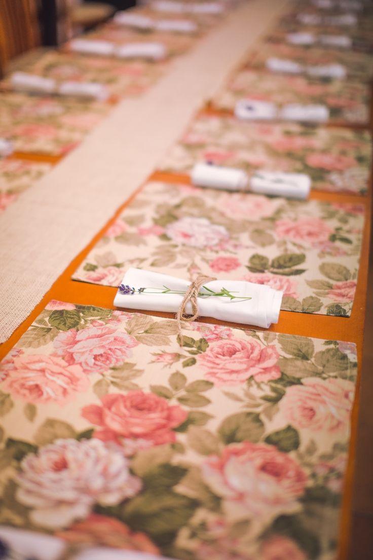 Dekoracje sztućców. #decoration #wedding #flowers #rustic #lavender #napkin