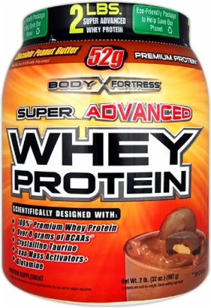 Body Fortress Super Advanced Whey Protein... my new best friend!