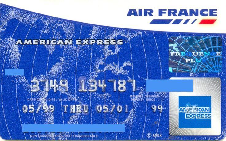 Air France (American Express Carte, France) Col:FR-AE-0008