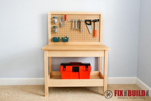 DIY Kids Workbench-6