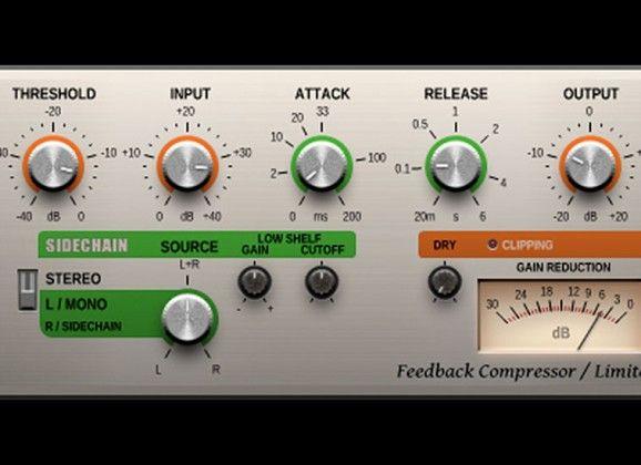 Free VST Compressor as_fbComp