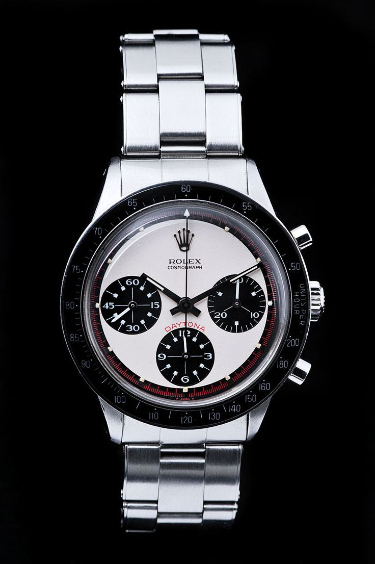 Perfect Newman...except Newmans was on leather strap and had red rings around small dials