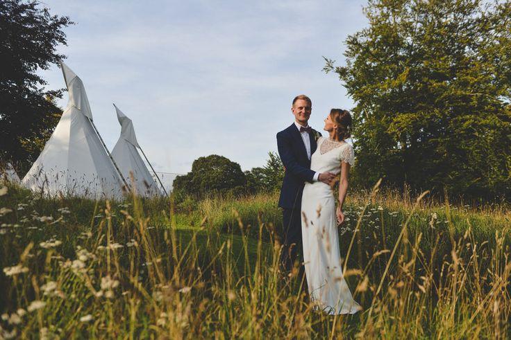 Pennard House Wedding Venue Somerset   Charlie Brear Lace Dress   Dave Watts Photography    http://www.rockmywedding.co.uk/romy-rob/