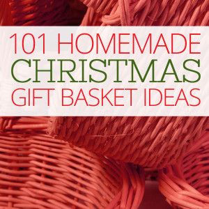Here are 101 fabulous homemade Christmas gift basket ideas for you to make for your family and friends this season.