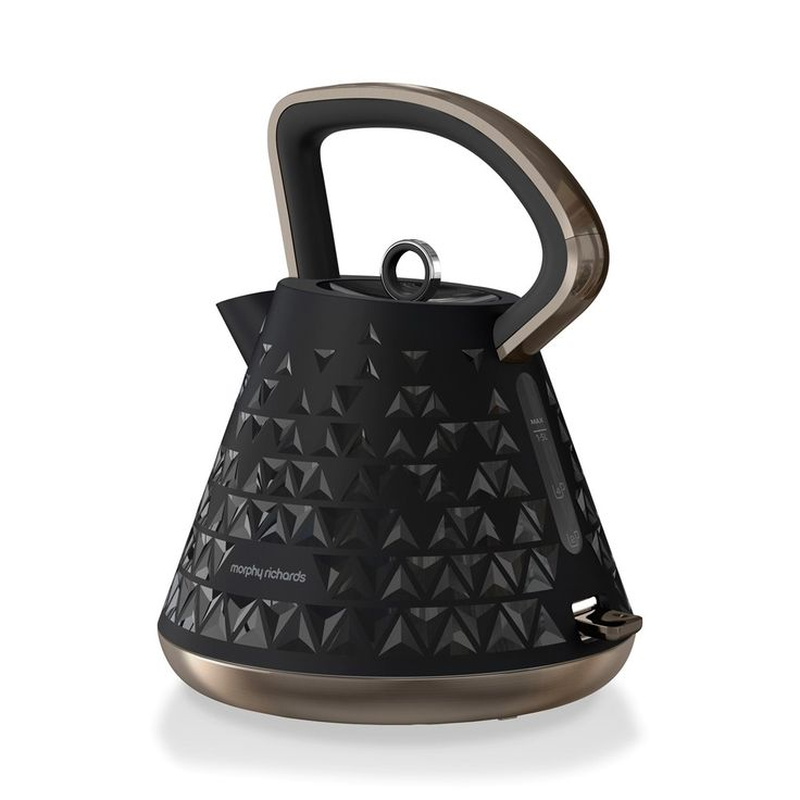 Make the perfect brew with the Morphy Richards Prism Black Traditional Kettle #kettle #tea #afternoon