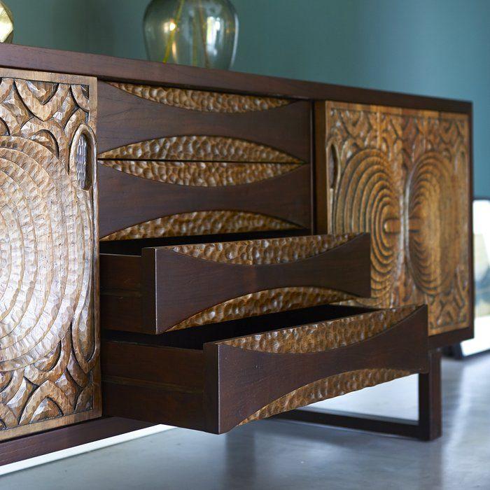 Frida 2 Door 4 Drawer Sideboard Modular Furniture Design Minimalist Living Room Modern Dining Room