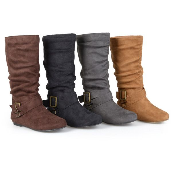 ddda702d519a Could use some mid-calf boots with very low or no heels - Womens Journee  Collection Womens Wide-Calf Mid-Calf Boots ( 41)