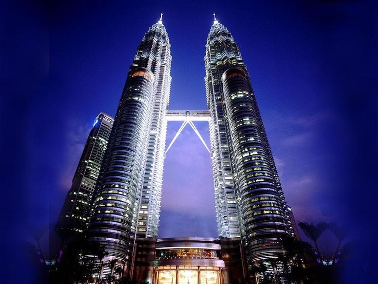 Petronas Tower 1, Kuala Lumpur, Malaysia: Building, Twin Towers, Malaysia, Travel, Places, Petronas Towers, Kuala Lumpur, Kuala Lumpur