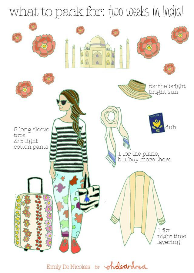 How To Travel Across The World For Two Weeks With One Suitcase