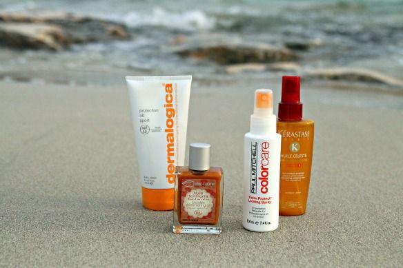 Pflegelieblinge für Sonne, Pool & Meer #beauty #pflegeprodukte #dermalogica #kerastase #paulmitchell