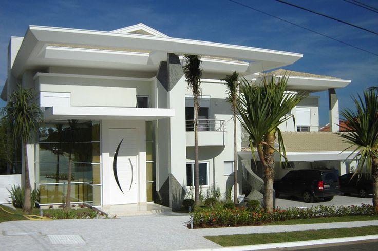 Fachadas casas modernas casas pinterest fachadas for Casa moderna 6 x 12