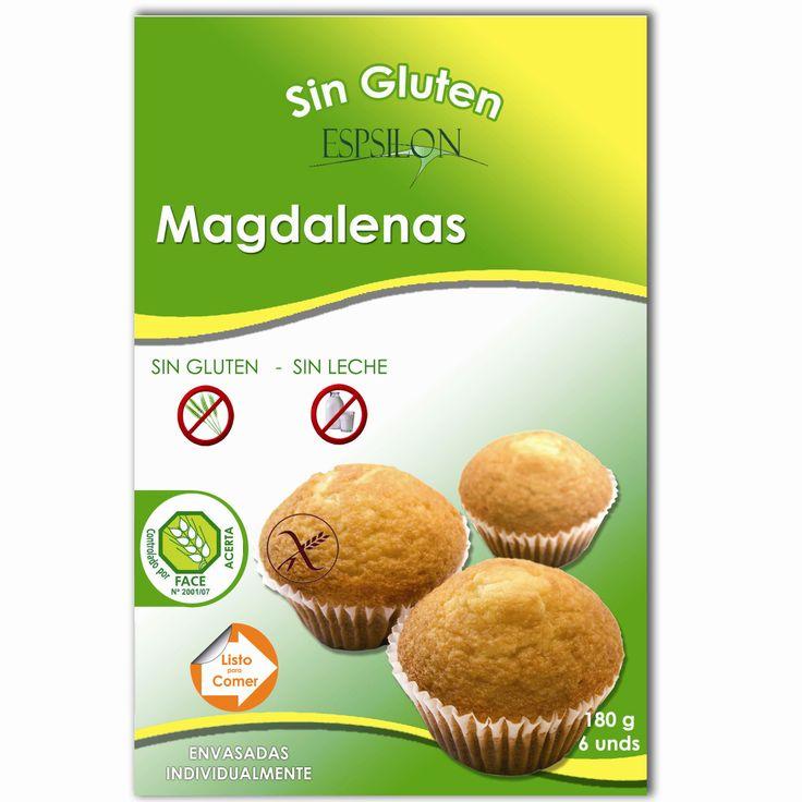 Magdalenas Sin Gluten Sin Leche