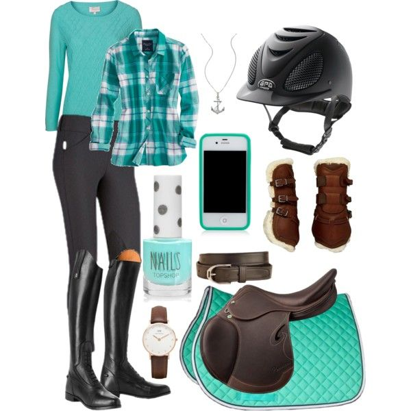 """""""Schooling/Lesson outfit"""" by fearlessriderxo on Polyvore"""
