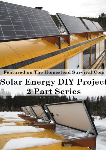Solar Energy DIY Project 2 Part Series | The Homestead Survival