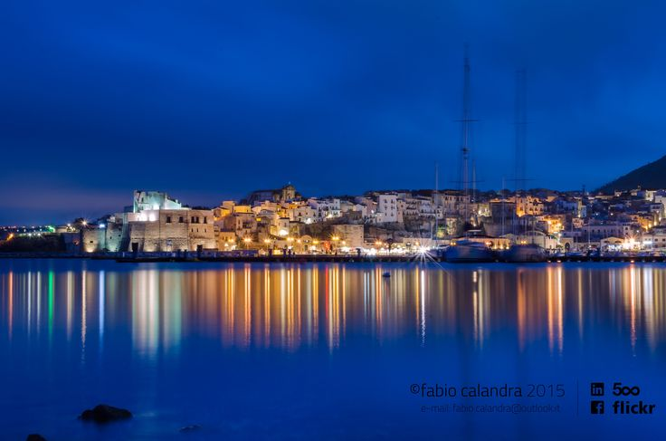 Blue hour at Castellammare del Golfo (Sicily) by fabio calandra on 500px