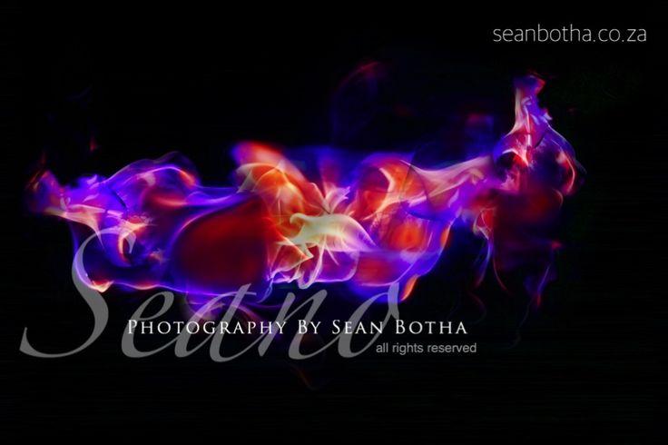 Purple Fire By Sean Botha
