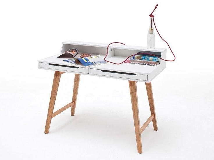 Białe biurko Elise 1