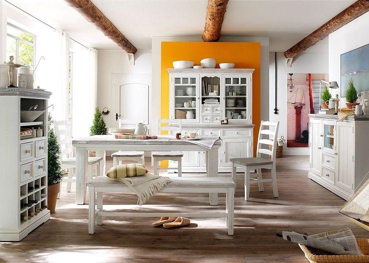 Esszimmer Weiß Holz Die Besten 25+ Landhausmöbel Weiss Ideen Auf Pinterest .