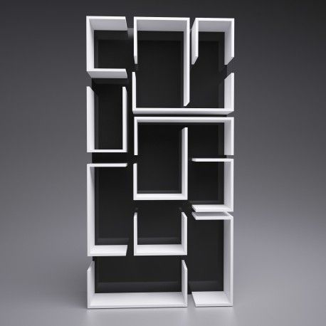 absolutely unique bookcase. by nobo design