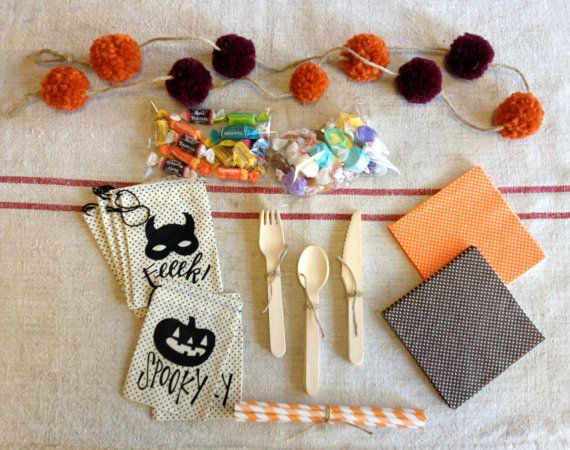 Halloween Harvest Party Box by Ninety9RedBalloons on Etsy