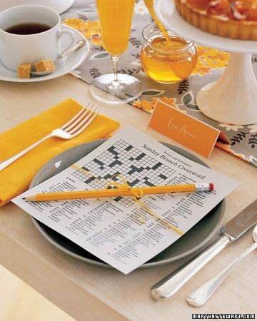 Personalized crossword puzzles