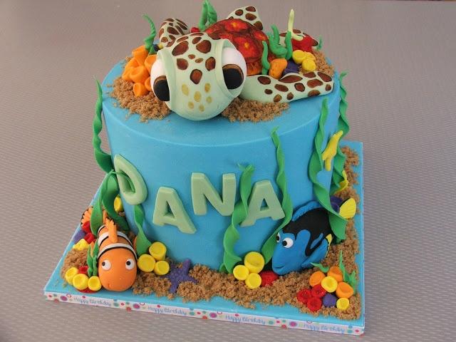 Best Jaxons Rd Birthday Finding Nemo Images On Pinterest - Finding nemo birthday cake