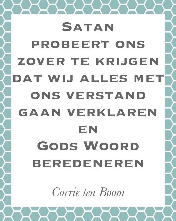 Uitspraak van Corrie ten Boom                                                                                                                                                                                 More