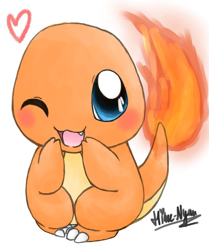 Baby Charmander by Hime--Nyan