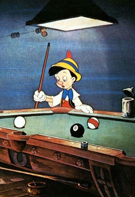 Pinocchio Billiards ~Via David