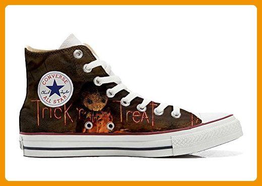 Converse All Star chaussures Personnalisé et imprimés UNISEX (produit artisanal) the horror size 42 EU