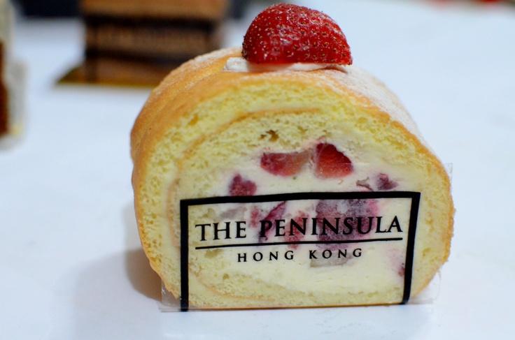 Strawberry Roulade @ Peninsula Boutique