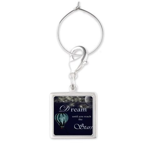 airbaloon travel Wine Charms on CafePress.com