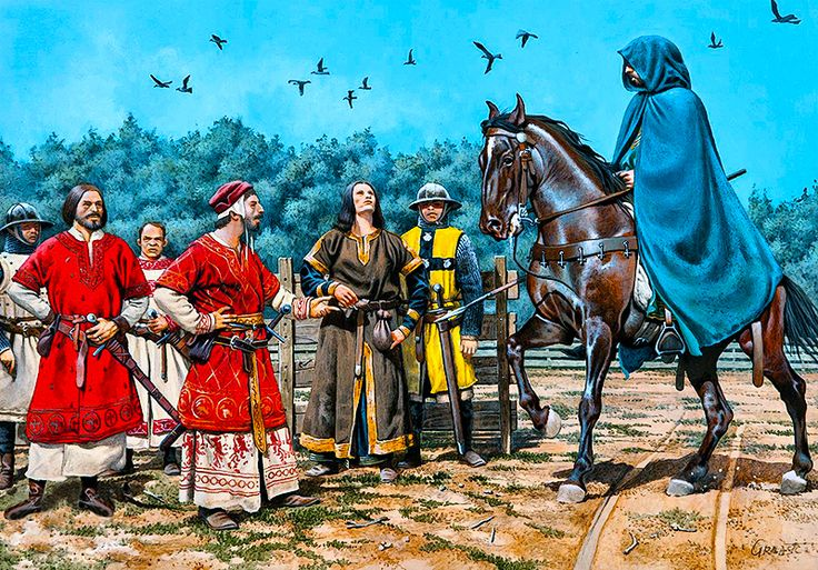 """""""The Challenge of Bordeaux - Peter of Aragon comes to the dueling field incognito to avoid capture by the French"""""""