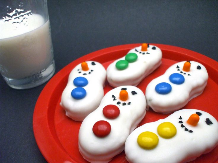 Cute snowmen cookies