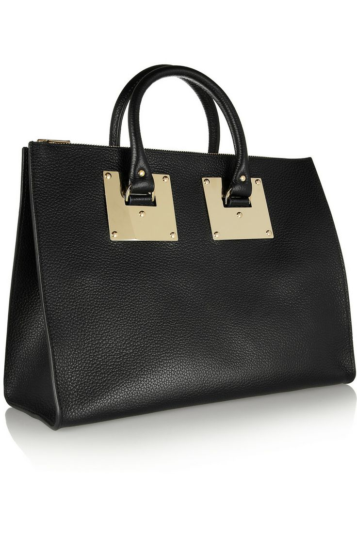 Sophie Hulme Textured-leather tote NET-A-PORTER.COM